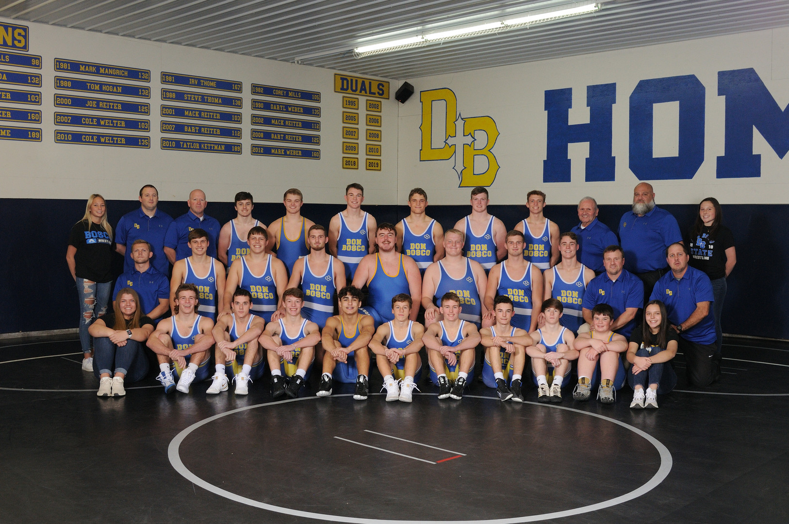 Bosco Catholic School System - Don Bosco Wrestling